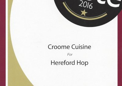 Great taste 1 star certificate - Hop