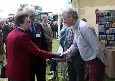 Nick and HRH Princess Anne